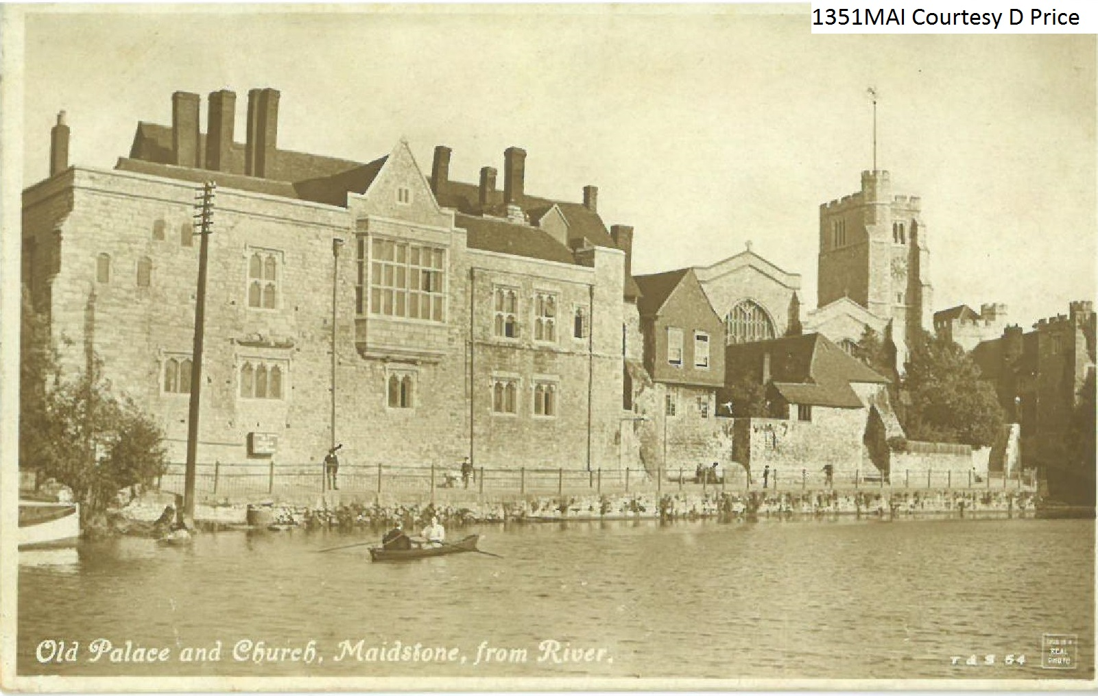 Old Palace and Church, Maidstone