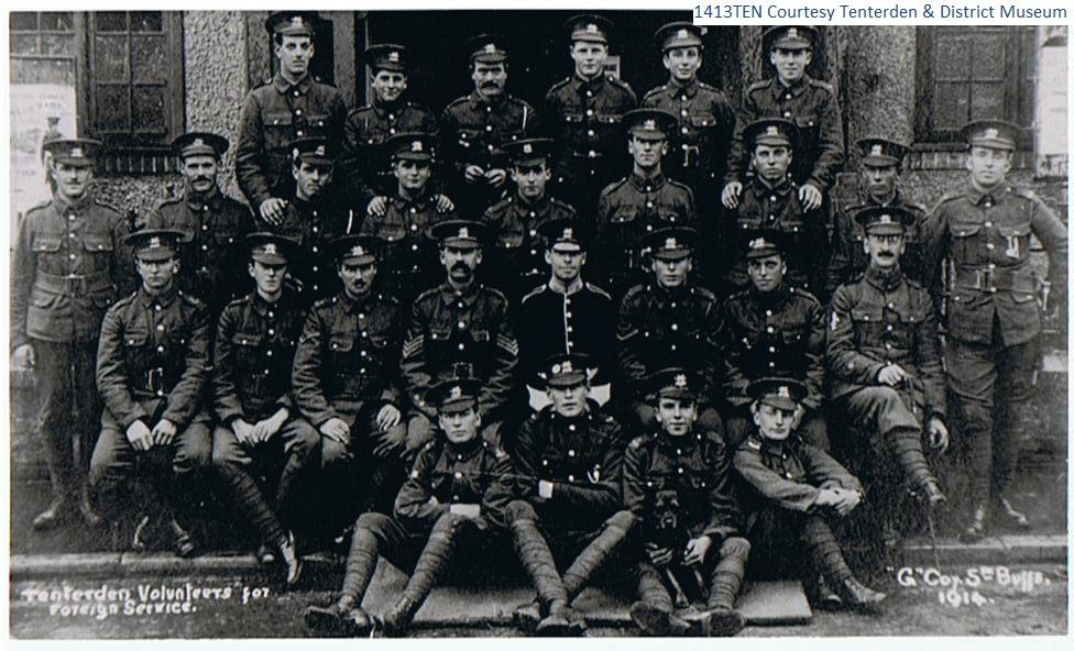 Tenterden Volunteers 1914
