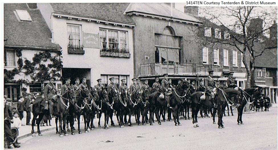 Town Hall mounted rifles 1912 and 1914