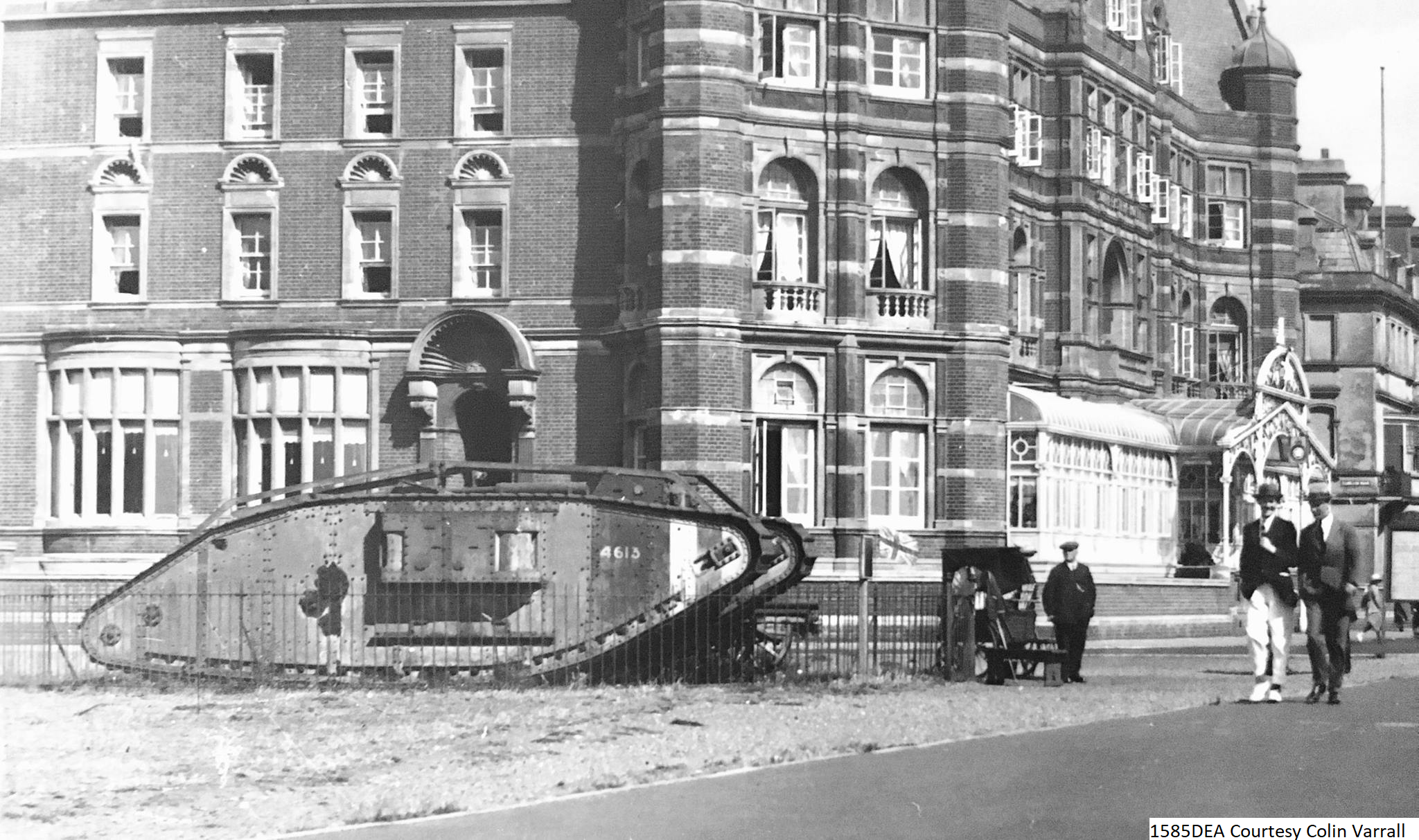 Hotel and Tank