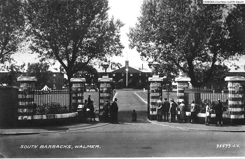 south barracks entrance Walmer