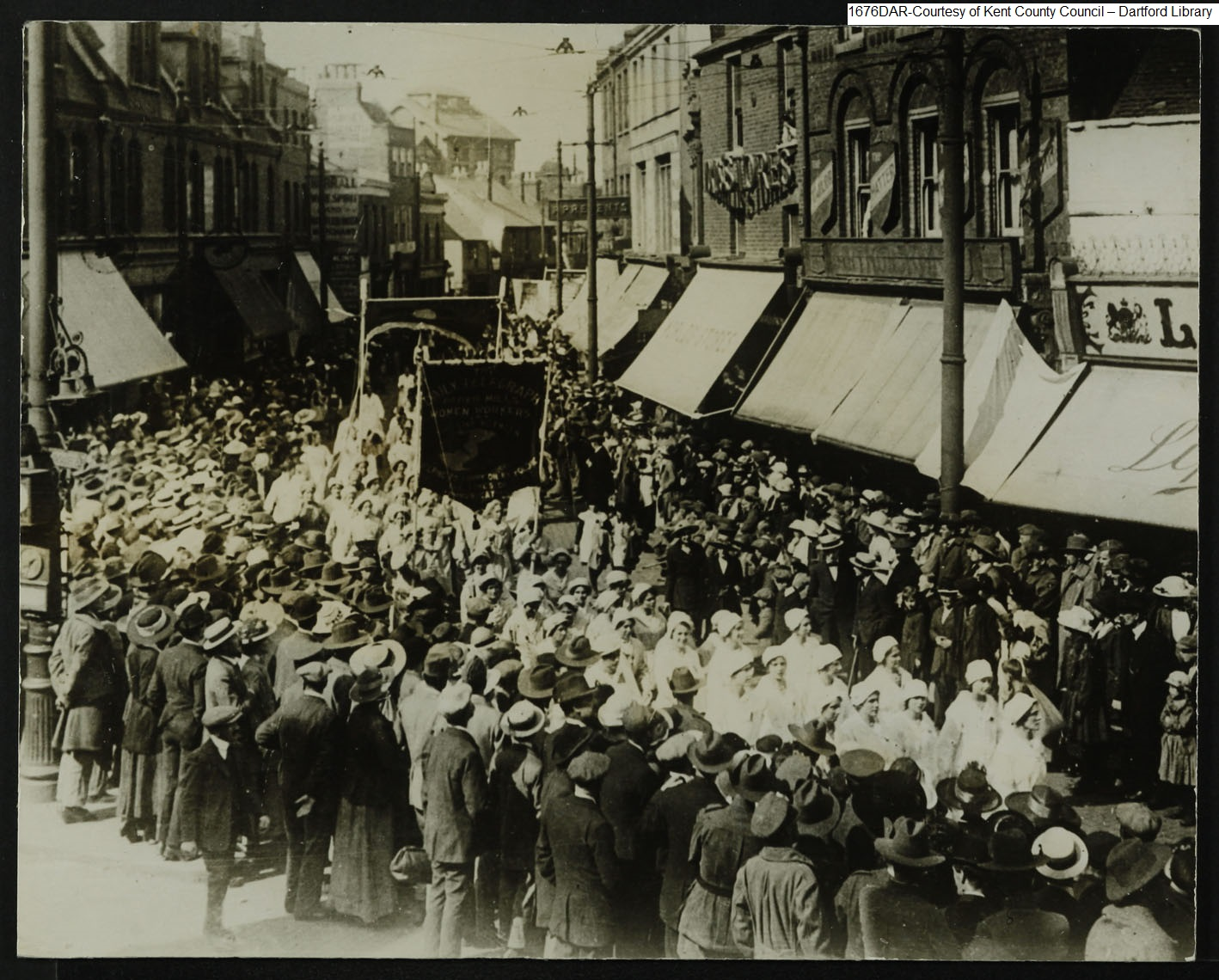 Women War Workers Parade