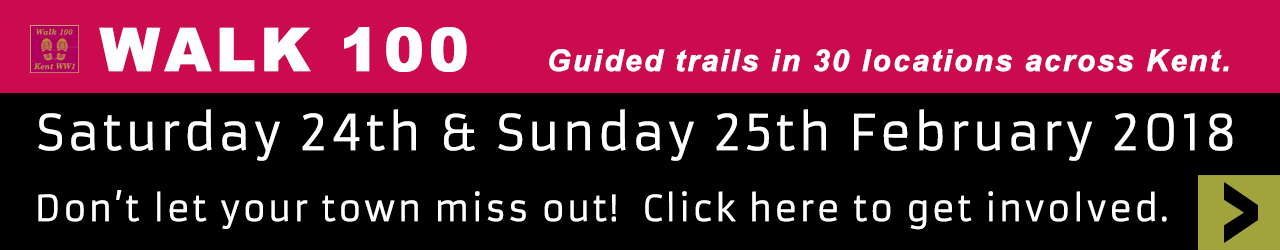 Walk 100 - Guided trails in 30 locations across Kent.